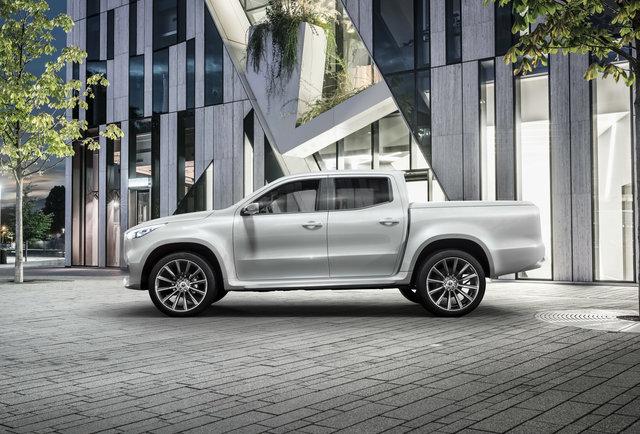 Mercedes-Benz X-class concept: пикап для реднеков от мерседеса