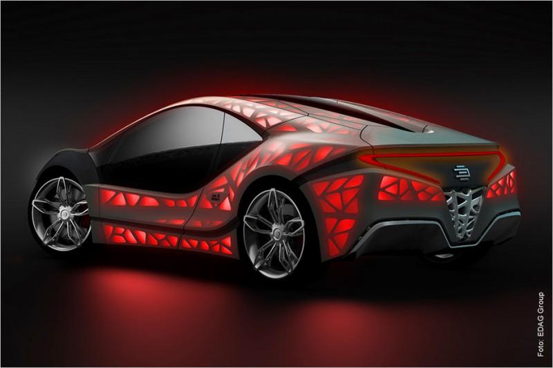 EDAG Light Cocoon: немецкий концепт с кузовом, напечатанном на 3D-принтере