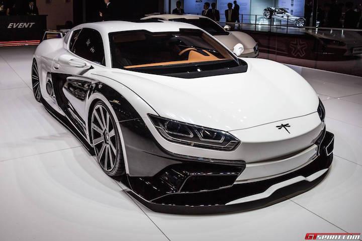 Qiantu K50: первый китайский суперкар