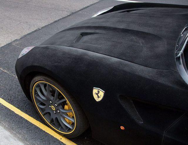 Ferrari 599 GTB Fiorano в бархате