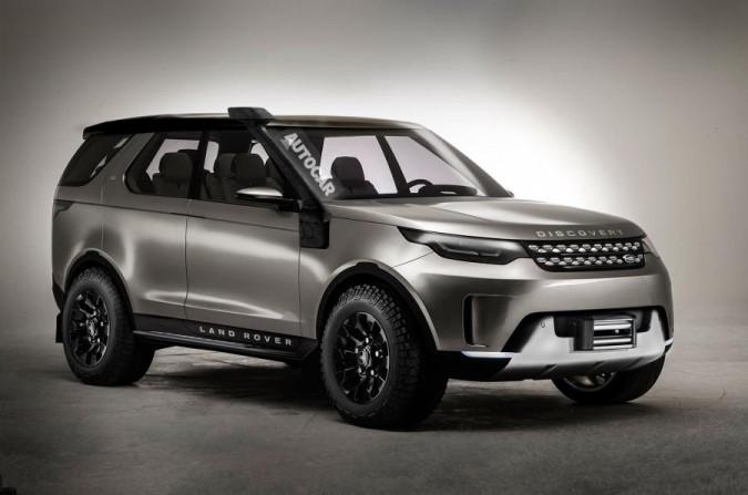 Land Rover Discovery SVX - пятое поколение для кемэл трофи