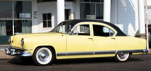 Kaiser Deluxe Golden Dragon (1951) with the Hofmeister kink