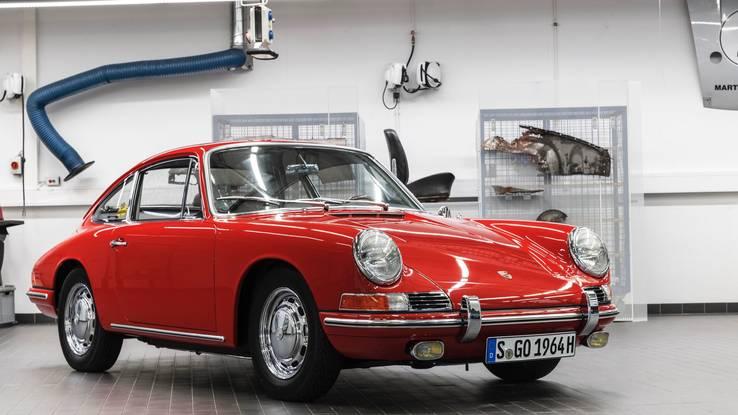 После трехлетней реставрации, Porsche 901 наконец-то выставлена в музее Porsche