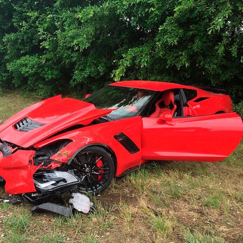 Идиотская неудача с Corvette C7 Z06 2015 года