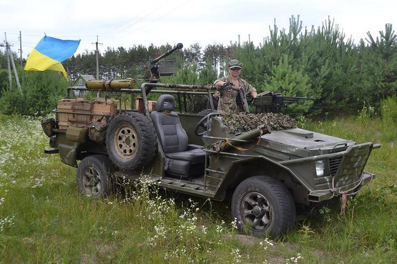Волонтерская боевая рейдовая машина для ВСУ