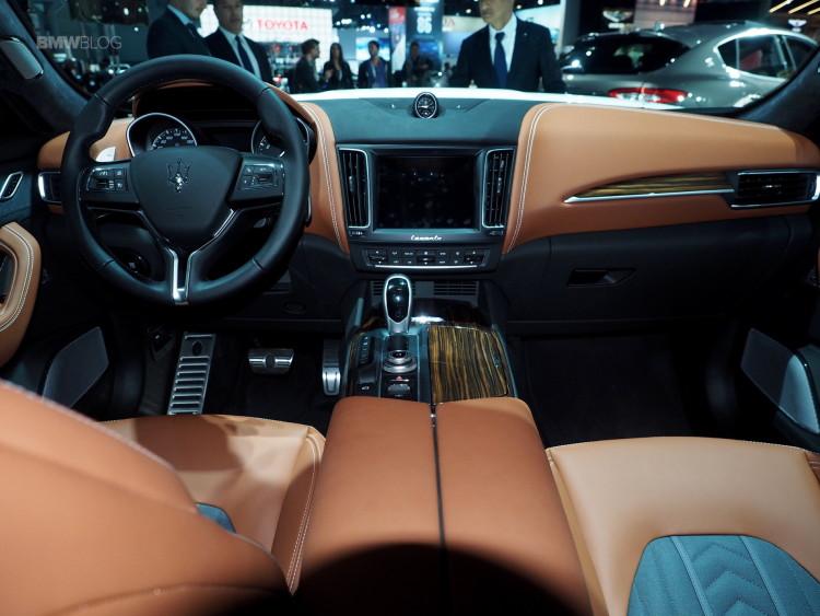Maserati Levante на 2016 NYIAS: небольшое разочарование