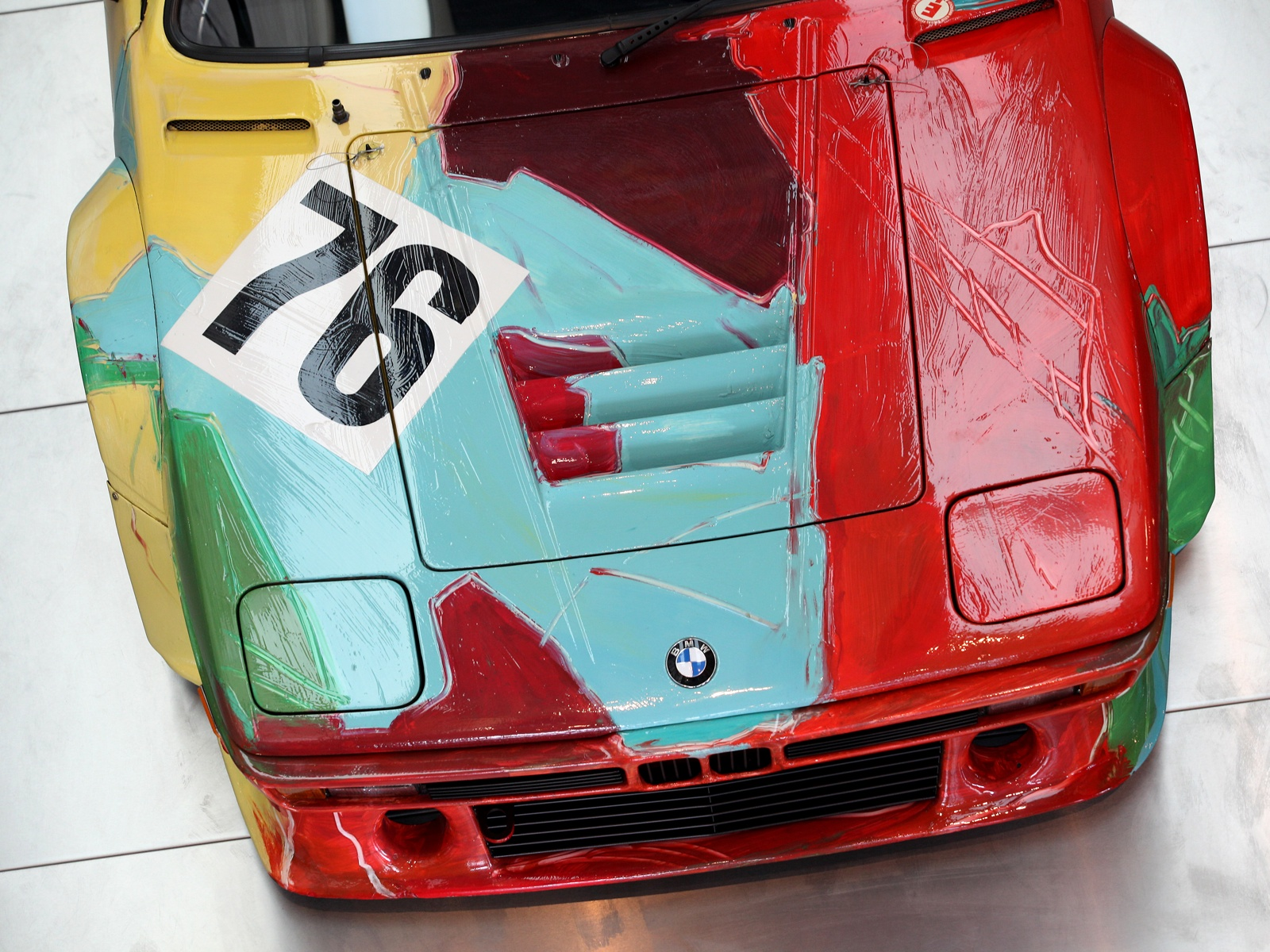 BMW M1 art car