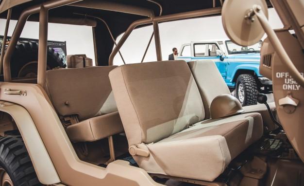 Jeep Wrangler Staff Car concept - догнать и перегнать Willys MB