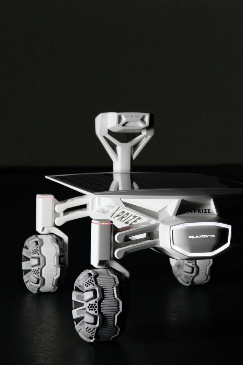 Audi собирается принять участие в постройке лунохода?