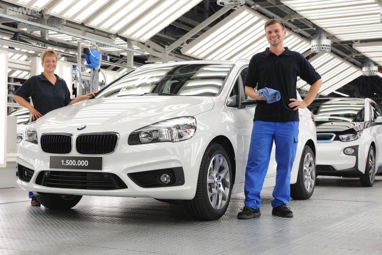 Завод BMW в Лейпциге выпустил свой полуторамиллионный автомобиль