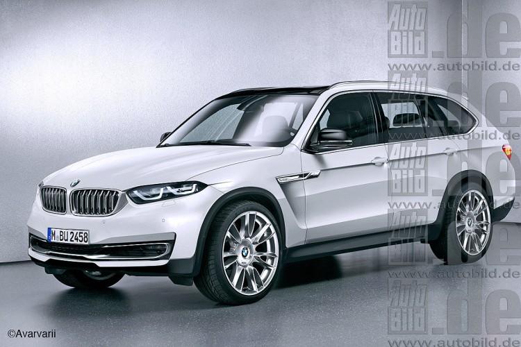 BMW X7: будущий конкурент для Mercedes-Benz GLS и Range Rover