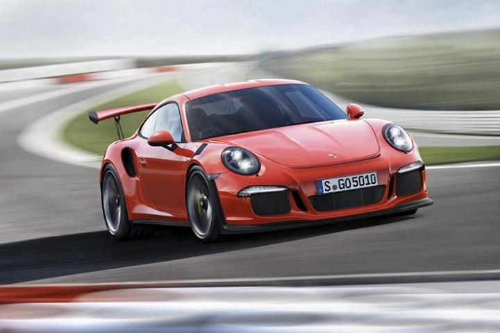 Товарищ Джордж Клуни получил на день рождения Porsche 911 GT3 RS