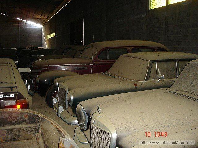 История со случайной покупкой бесхозного гаража, полного раритетных авто, оказалась фигней