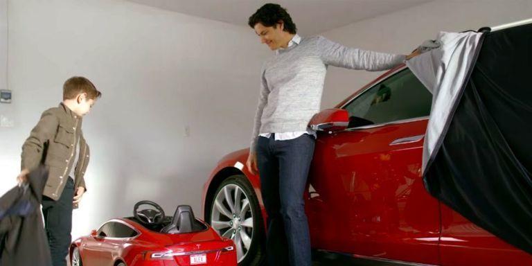 Tesla Model S для сопляков