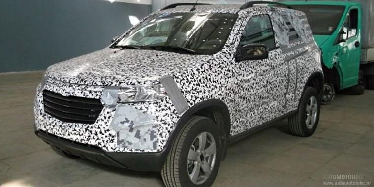 Шпионские фотки обновленной Chevrolet Niva