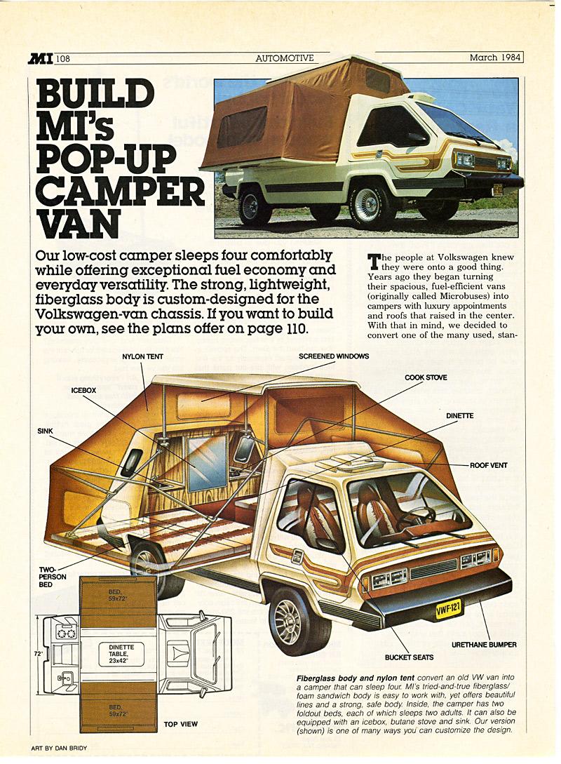 1973 Phoenix camper van - мечта походника