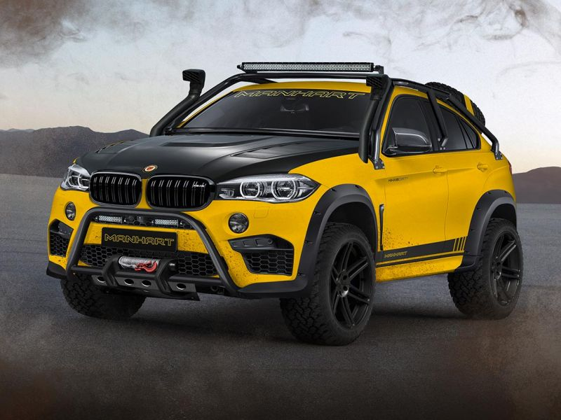 Manhart MHX6 Dirt² - действительно крутая BMW X6 М