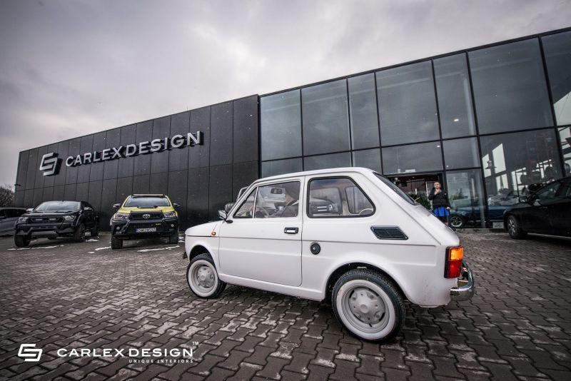 Том Хэнкс заказал у польских тюнеров особенный Fiat 126p