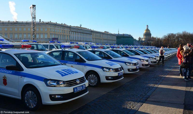 МВД Санкт-Петербурга закупило новые тачки