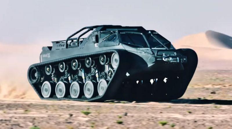 Ripsaw EV2: для танкистов при бабле