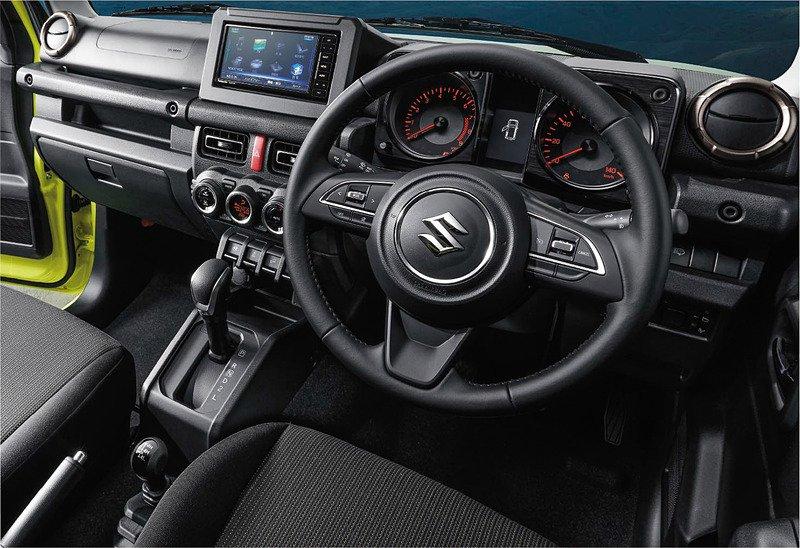 Наконец-то опубликованы официальные фотки Suzuki Jimny 2019 года!