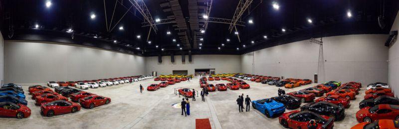 Крупнейшая сходка любителей Ferrari в Малайзии!