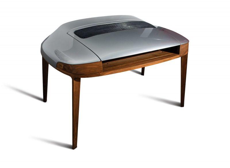 Мечтали ли вы об ореховом порше-столе ручной работы?!