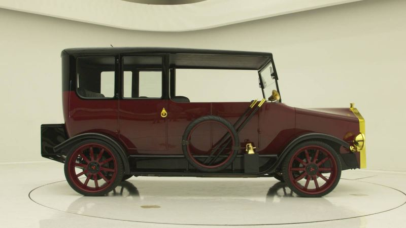 Mitsubishi и West Coast Customs возродили Mitsubishi Model A 1917 года