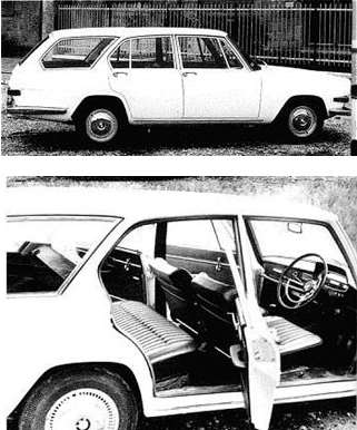 BMW/Glas 1800 GL Kombi
