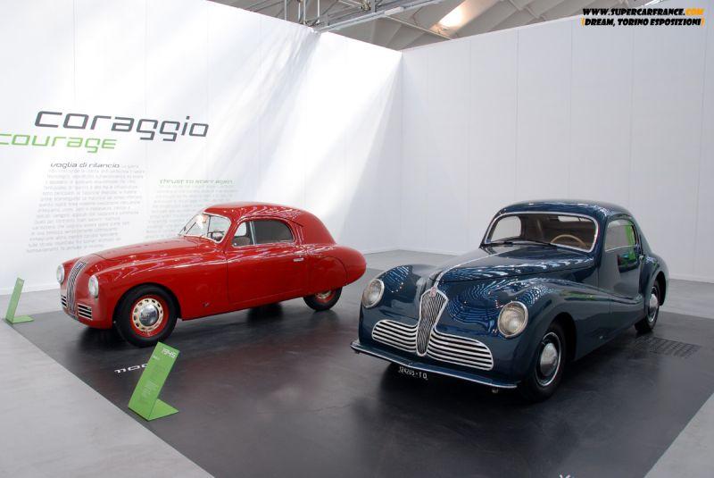 1947 Fiat 1100S и 1945 Fiat 1500C Bertone