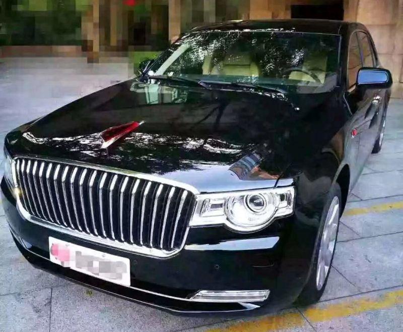 Первые фото нового китайского массового лимузина Hongqi L3