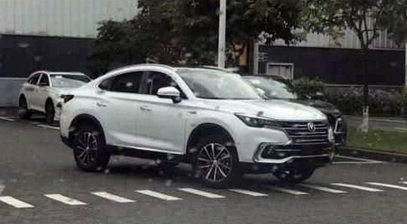 Новая модель Changan - китайский конкурент BMW X4 и Mercedes-Benz GLC Coupe