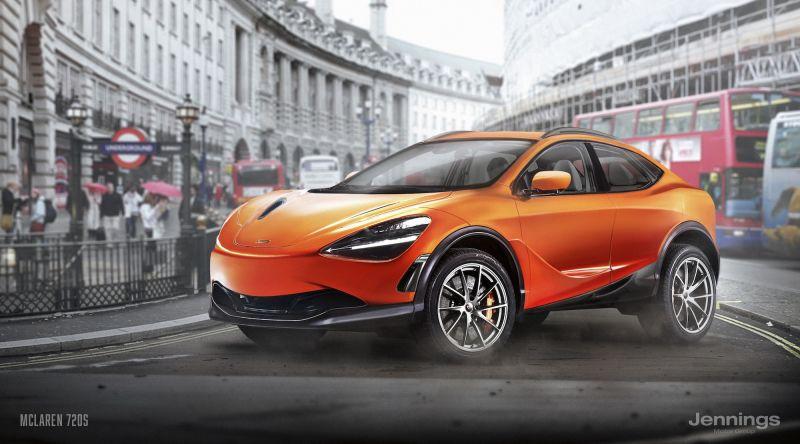 Какими могли бы стать SUV-ы из суперкаров?