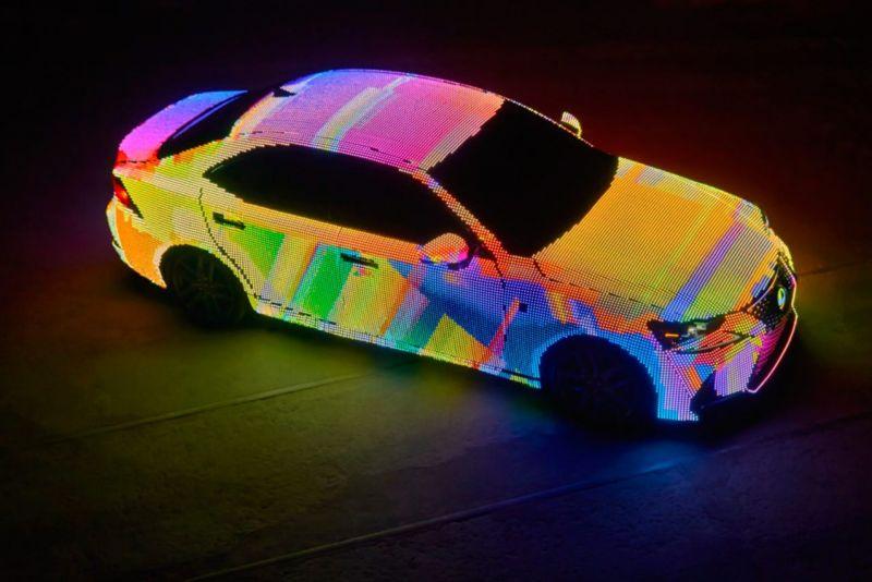 Перформанс для нового кузова Lexus IS 2017 года