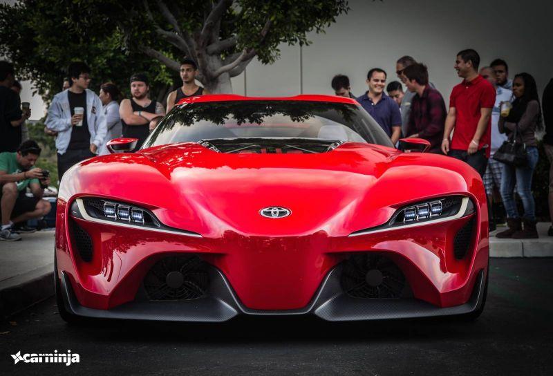 Новый концепт от тойоты: Toyota FT-1