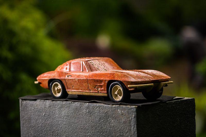 Модели суперкаров из... мрамора!