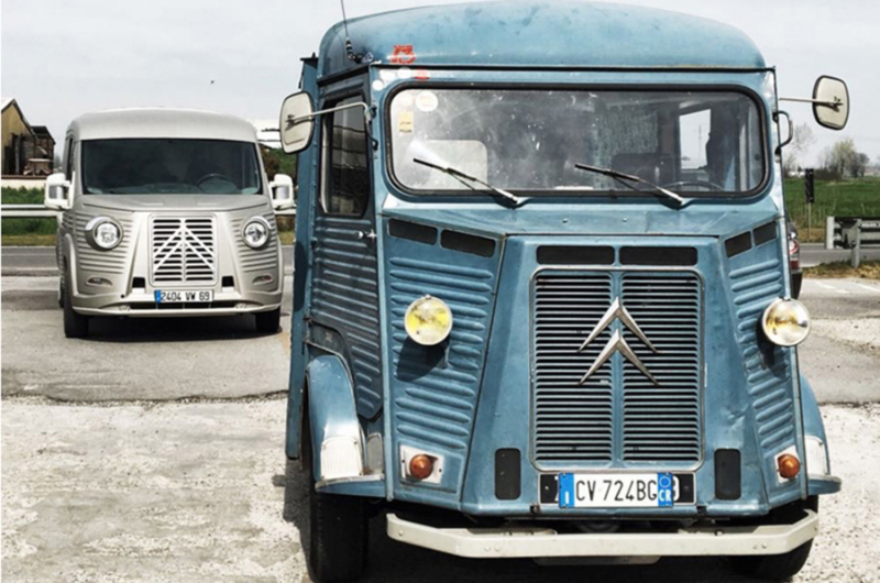Citroën Relay в стиле Citroën Type H