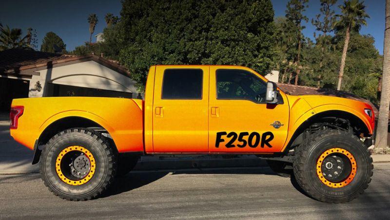 Серьезный тюнинг от F250R: Ford F250R MegaRaptor и SuperRaptor