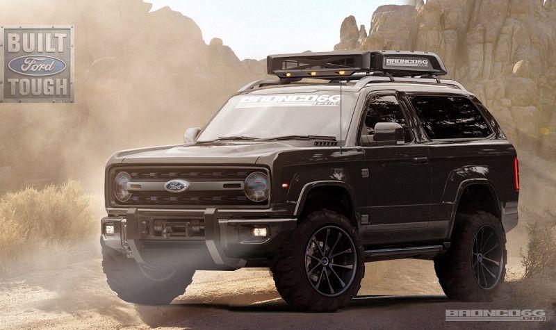 Размышления на тему нового Ford Bronco