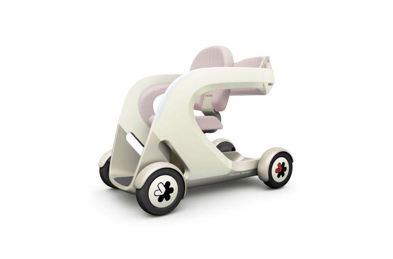 Шкафчик, тумбочка и стульчик на колесах: новые концепты от Хонды