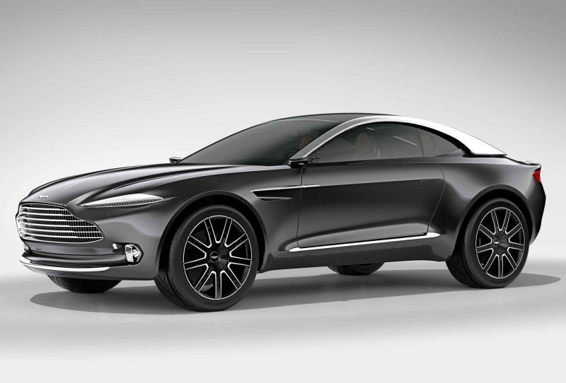 Новый концепт - Aston Martin DBX