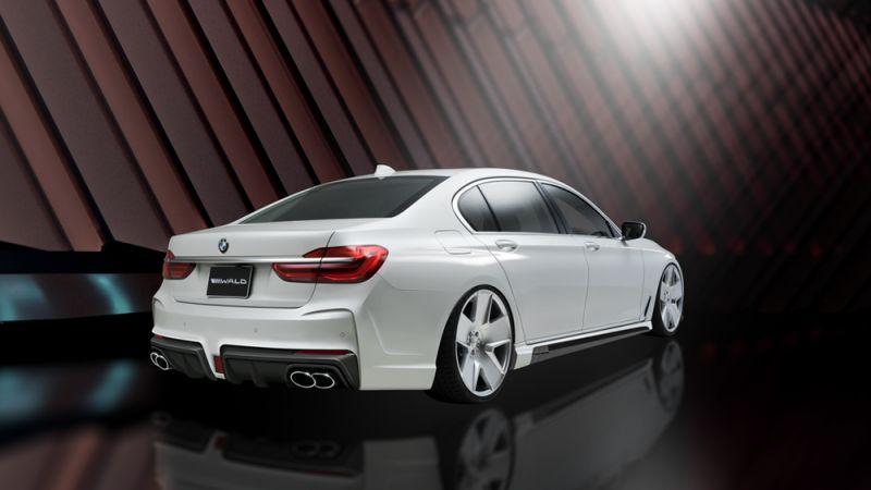 Японцы оттюнинговали БМВ: BMW 7 Series Black Bison