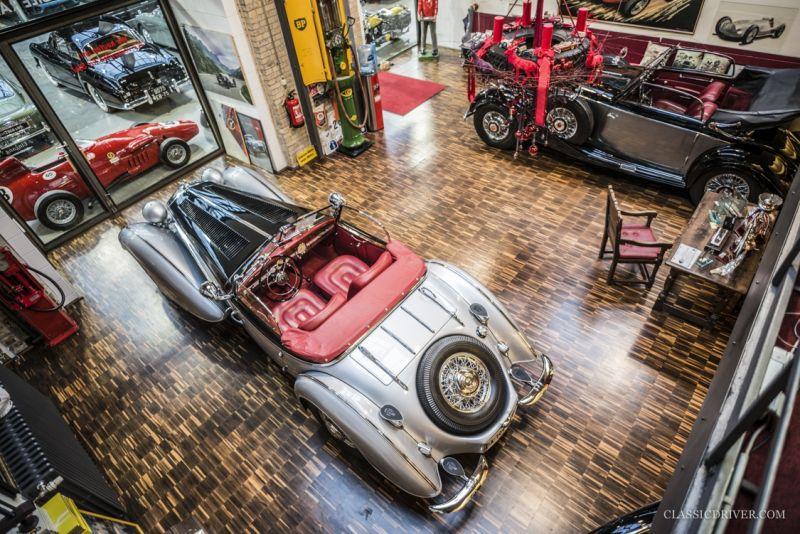 Thiesen's showroom: выставка автоклассики в трамвайном депо в центре Берлина