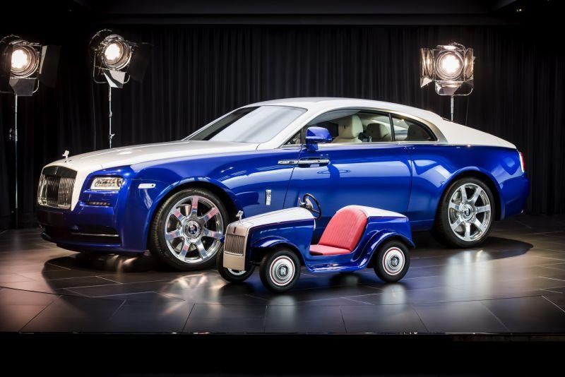 Новая эксклюзивная модель Rolls-Royce SRH