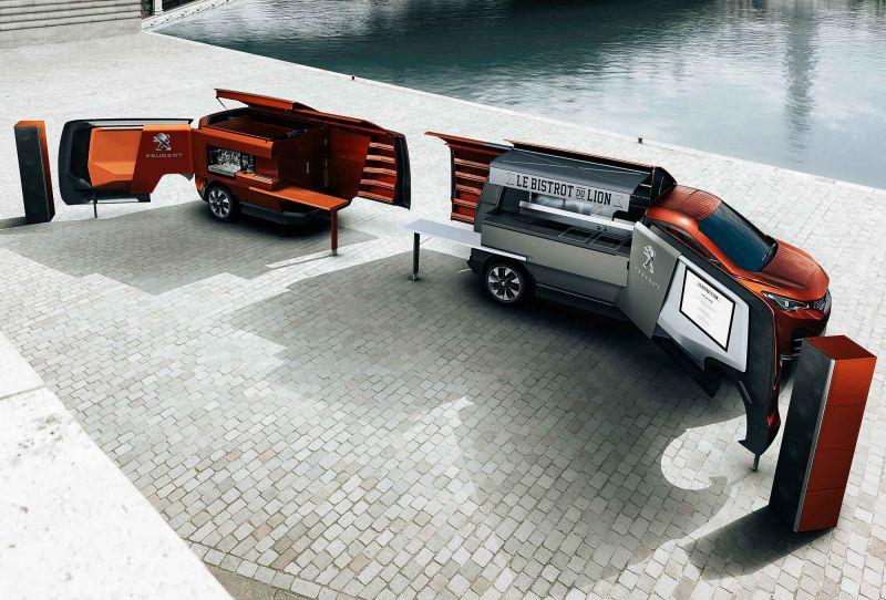 Крутой фургон-бистро от Peugeot: Le Bistrot du Lion