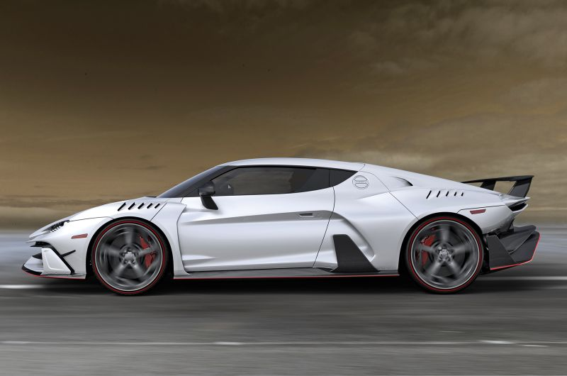 Italdesign запустил одноименный бренд, показав суперкар Zerouno V10