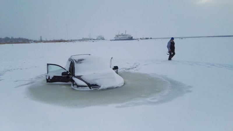 Туарег-морж в Эстонии