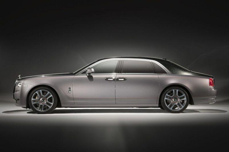 Бриллиантовый Rolls-Royce Ghost Elegance
