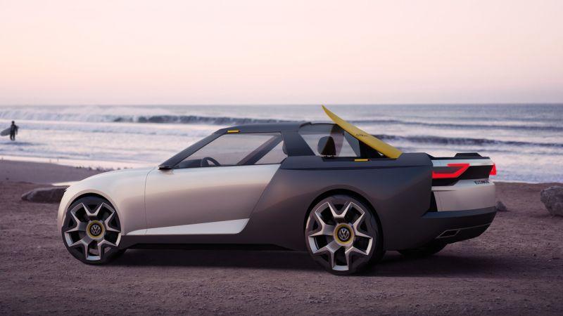Volkswagen Varok: концепт-пикап-универсал