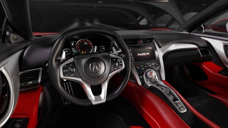 Acura NSX 2016 - конкурент BMW i8